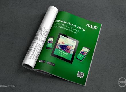 Anúncio App Sage Fiscal 2015