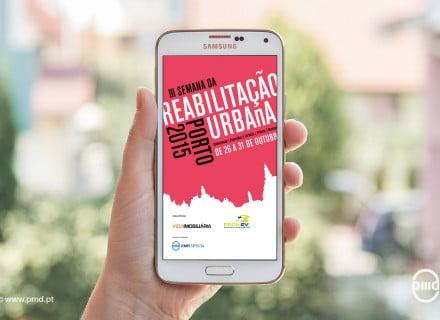 App Semana da Reabilitação Urbana Porto 2015