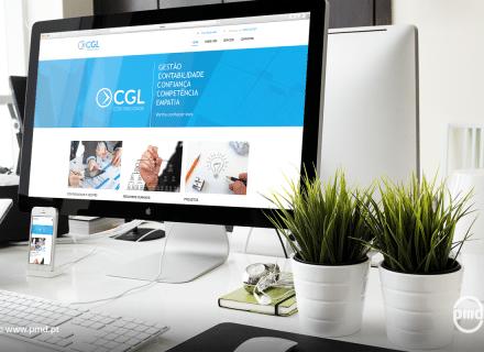 Website CGL Contabilidade